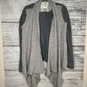 Anthropologie Saturday Sunday Open Front Cardigan.